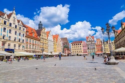 Вроцлав Рыночная площадь