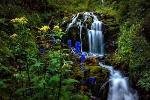 Емурлинский водопад Алтай