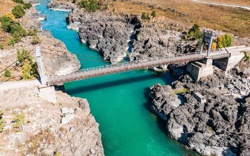 Ороктойский мост Алтайjpg